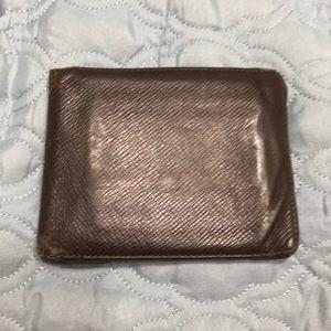 Authentic Louis Vuitton men's leather wallet